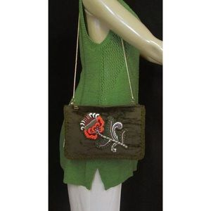 💚✳️NWT Steve Madden Crossbody Purse Orchid Olive